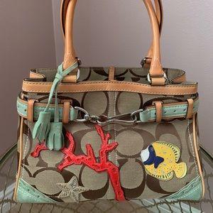 Coach cary all tote handbag